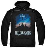 Hoodie: Falling Skies - Main Players Pullover Hoodie