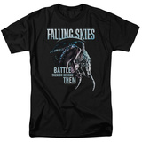Falling Skies - Battle Or Become T-Shirt
