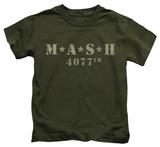 Juvenile: M.A.S.H - Distressed Logo T-Shirt