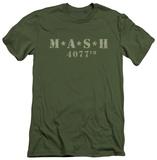 M.A.S.H - Distressed Logo (slim fit) T-shirts