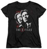 Womens: The X Files - Mulder & Scully T-shirts