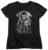 Womens: Sons Of Anarchy - Smoky Reaper Shirts