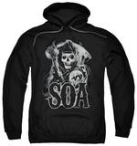 Hoodie: Sons Of Anarchy - Smoky Reaper Pullover Hoodie
