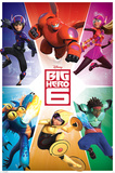 Big Hero 6 - Team Prints