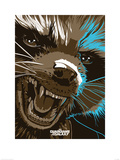 Guardians Of The Galaxy - Rocket Raccoon Prints