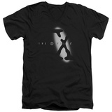 The X Files - Spotlight Logo V-neck V-Necks