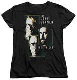 Womens: The X Files - Lone Gunmen T-shirts