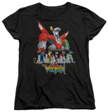 Womens: Voltron - Lions T-shirts