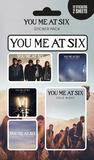 You Me At Six - Mix Sticker Pack Aufkleber