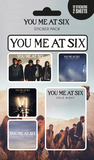 You Me At Six - Mix Sticker Pack Stickers