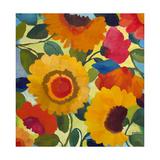 Flower Market 1 Reproduction procédé giclée par Kim Parker