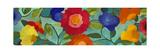 Blue Panels 1 Reproduction procédé giclée par Kim Parker