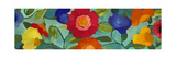 Blue Panels 1 Giclée-Druck von Kim Parker