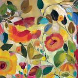 Garden Fantasie Giclée-Druck von Kim Parker