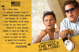 The Wolf Of Wall Street Stampe