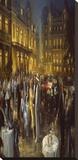Apres L'Opera Opspændt lærredstryk af Alan Fearnley