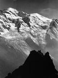 View of Mount Bianco, France Fotografisk trykk av Dusan Stanimirovitch