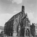The Church of Our Lady in Nuremberg Photographic Print by Pietro Ronchetti