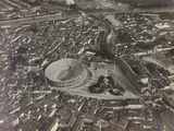 First World War: View of Verona with the Arena and the River Adige, Taken from a Blimp Fotografie-Druck