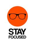 Stay Focused Circle 1 Premium Giclee Print by  NaxArt