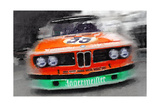 BMW Front End Watercolor Prints by  NaxArt