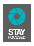 Stay Focused Circle 4 Premium Giclee Print by  NaxArt