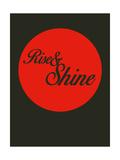 Rise and Shine 3 Stampe di  NaxArt