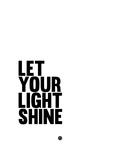 Let Your Lite Shine 1 Giclée-Premiumdruck von  NaxArt