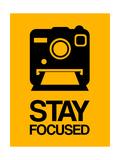Stay Focused Polaroid Camera 2 Giclée-Premiumdruck von  NaxArt