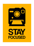 Stay Focused Polaroid Camera 2 Premium Giclee Print by  NaxArt