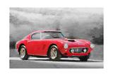 1960 Ferrari 250 GT SWB Watercolor Kunstdruck von  NaxArt
