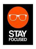 Stay Focused Circle 2 Premium Giclee Print by  NaxArt