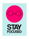 Stay Focused Circle 1 Giclée-Premiumdruck von  NaxArt