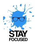 Stay Focused Splatter 2 Premium Giclee Print by  NaxArt
