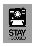 Stay Focused Polaroid Camera 1 Art by  NaxArt
