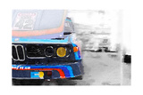 BMW Lamp and Grill Watercolor Affiches par  NaxArt