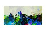 Rome City Skyline Affiches par  NaxArt
