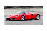 2002 Ferrari Enzo Watercolor Kunst von  NaxArt