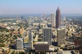 Downtown Atlanta Cityscape Photographic Print by  SeanPavonePhoto