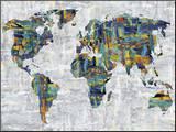 Painted Colour Map Pohjustettu vedos tekijänä Paul Duncan