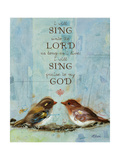 I Will Sing Poster by Donna Race