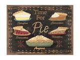 Time for Pie Kunstdrucke von Jo Moulton