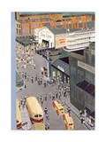 The New Yorker Cover - August 5, 1950 Premium Giclee Print by Charles E. Martin