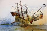 Ralph Steadman - Curse Of Lono Kunstdrucke von Ralph Steadman