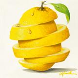 Lemon Cut Posters tekijänä Paolo Golinelli