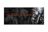 Protect and Serve Print by Jim Baldwin