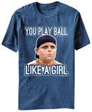 The Sandlot - Play Ball Like A Girl T Shirts