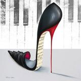 Piano Poster av Marilyn Robertson