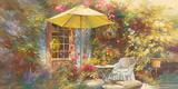 La Terrasse de Marie Poster by Johan Messely