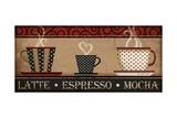 Kaffe Posters av Jennifer Pugh